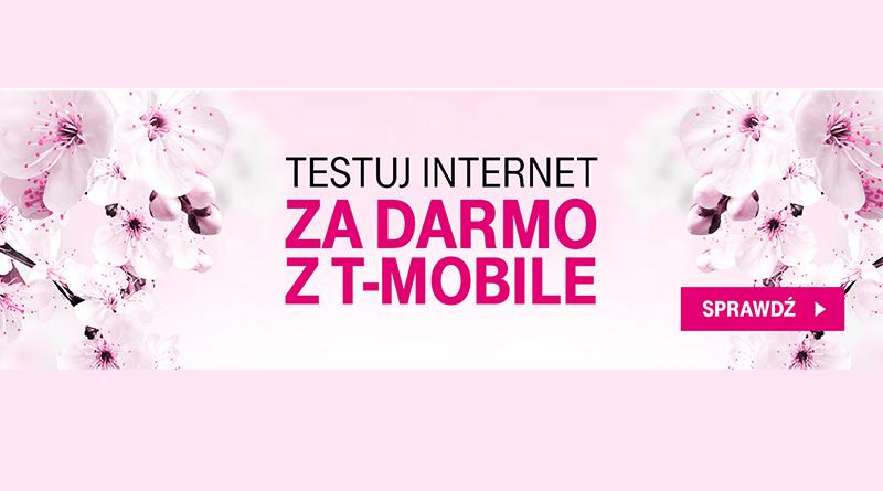 Testuj internet za darmo w T-Mobile