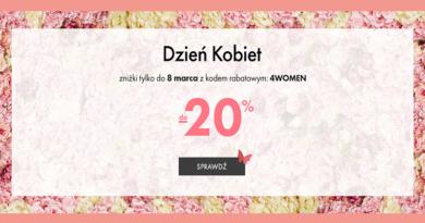 Promocja eobuwie.pl do 20% taniej na Dzień Kobiet