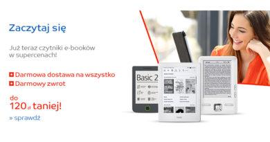 Rabaty na czytniki e-book w sklepie eMag