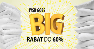 Rabaty w Jysk do 60% Jysk Goes BIG
