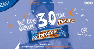 Konkurs Wedel Wkręcona 30tka Pawełka