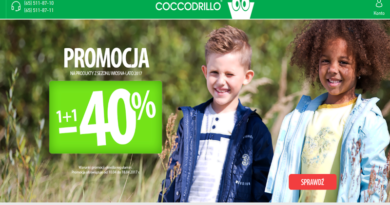 W Coccodrillo promocja 1+1 -40% na drugą tańszą sztukę