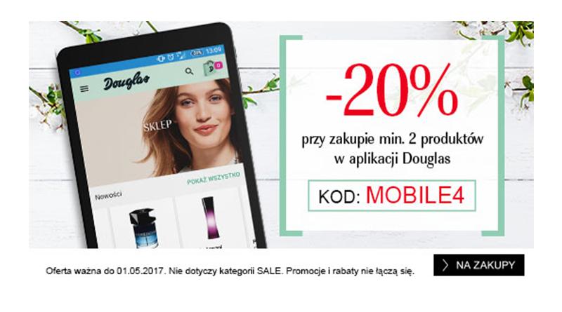 Rabat -20% w aplikacji Douglas