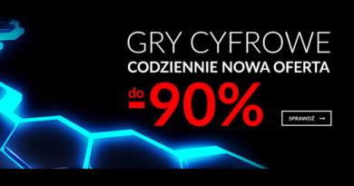 Gry cyfrowe do -90% taniej na Empik.com