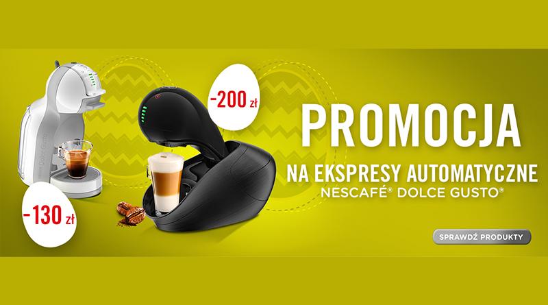 Promocja na ekspresy automatyczne w Media Markt