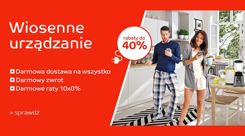 Wiosenne urządzanie z rabatami do -40% na eMag.pl