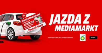 Kupuj w Media Markt i korzystaj z bonów na stacjach BP