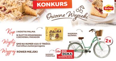 Konkurs Carrefour Owocne Wypieki z Palmą