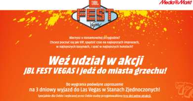 Konkurs Media Markt JBL FEST VEGAS w Media Markt