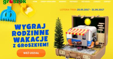 Loteria Groszek Wygraj rodzinne wakacje z Groszkiem
