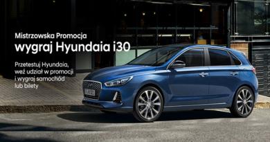 Loteria Hyundai Mistrzowska Loteria Hyundai i30