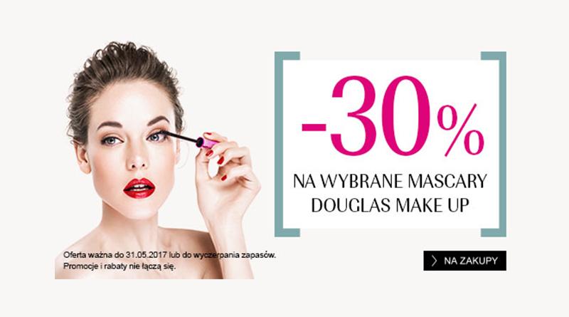 Rabat -30% na wybrane mascary w Douglas
