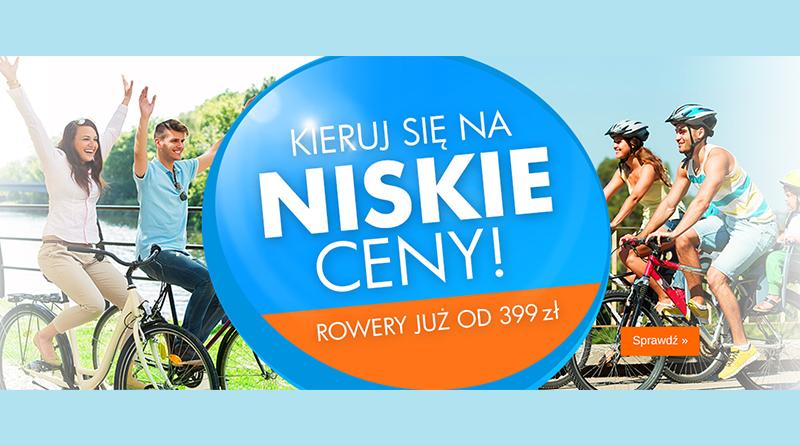 Kieruj się na niskie ceny rowerów w Electro