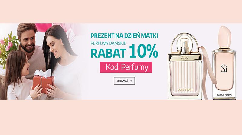 Rabat 10% na perfumy damskie na empik.com