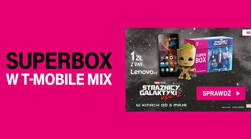 Odbierz superbox ze smartfonem i prezentem w T-Mobile