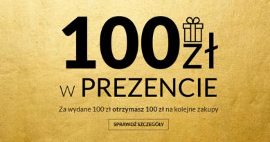 100 zł w prezencie w salonie Top Secret