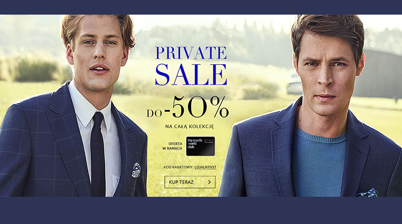 Private Sale do -50% w salonie Vistula