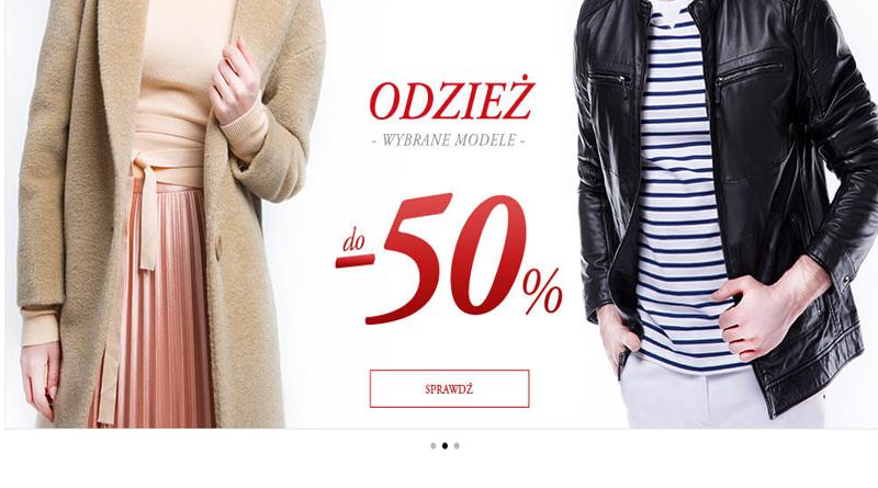 346a841791c9d Rabaty do -50% na wybrane modele odzieży w Wittchen