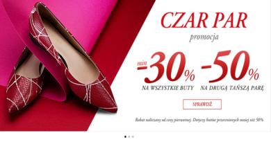 Rabaty do -50% na drugą parę butów w Wittchen