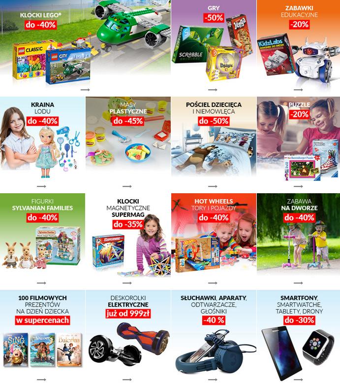 promocje na zabawki w empiku 2017 dzień dziecka