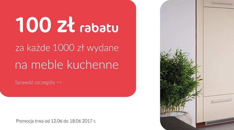 100 Zl Rabatu Za Kazde Wydane 1000 Zl Na Meble Kuchenne Agata