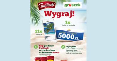 Konkurs Groszek Wygraj z Pudliszki