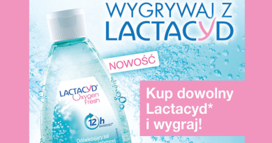 Konkurs Super Pharm Wygrywaj z Lactacyd