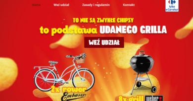 Loteria Carrefour Grillowanie z Pringles