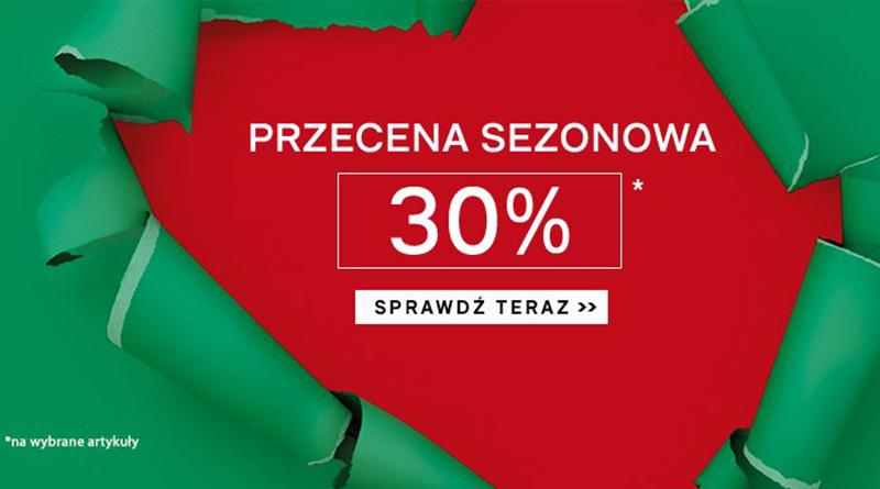 Przecena sezonowa z rabatem 30% w sklepie Deichmann
