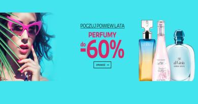 Poczuj powiew lata z rabatem na perfumy do -60% na Empik.com