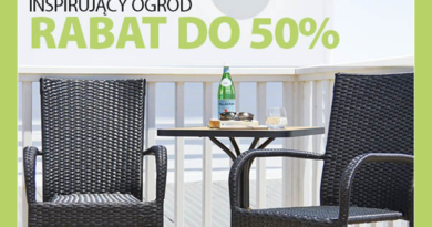 Inspirujący ogród z rabatami do -50% w sklepie Jysk