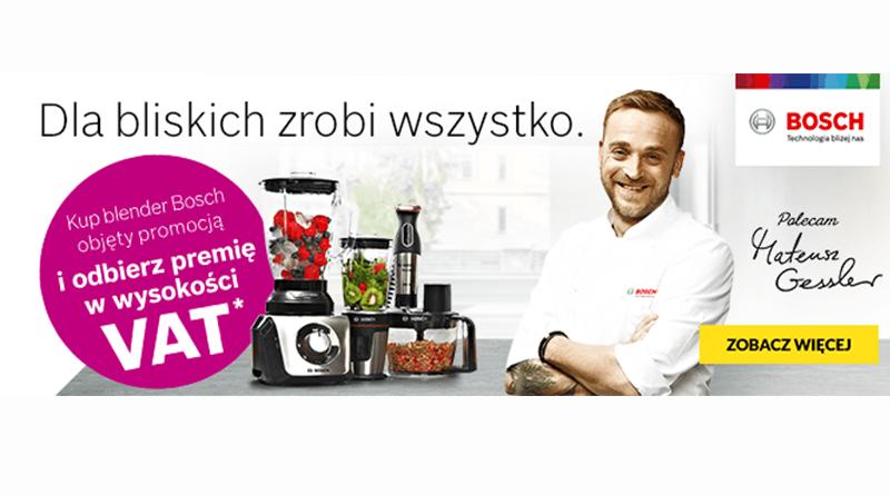 Kup blender i odbierz premię w wysokości VAT w RTV euro AGD