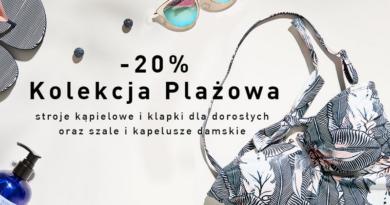 Rabat 20% na kolekcję plażową w salonie Reserved