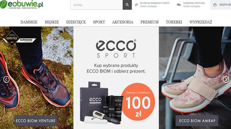 Kup produkty ECCO BIOM i odbierz prezent na eobuwie.pl