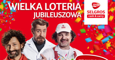 Wielka jubileuszowa loteria Selgros