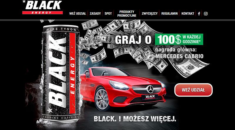 Loteria Black Energy - Graj o Mercedesa Cabrio