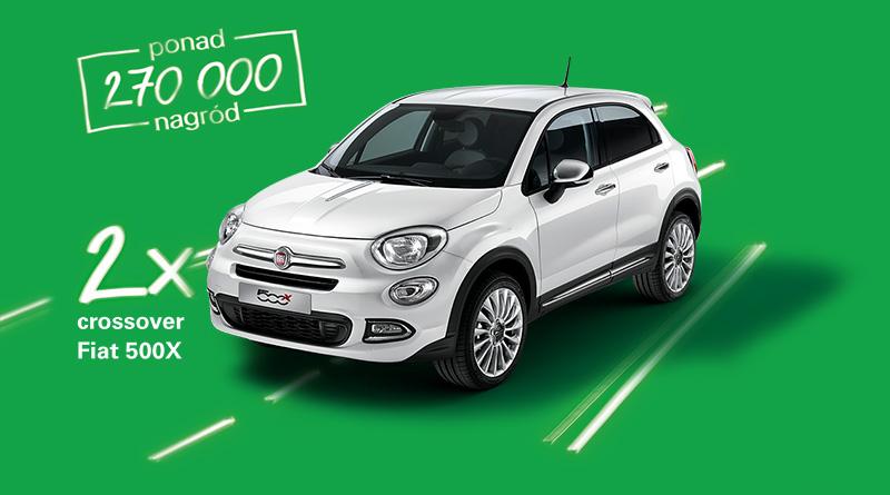 Loteria BP: Wygraj Fiata 500X lub inne ciekawe nagrody