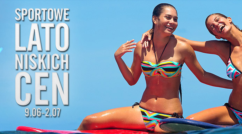 Sportowe lato niskich cen w Decathlon