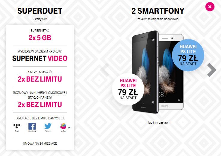 superduety t-mobile przykładowa oferta 2017 czerwiec