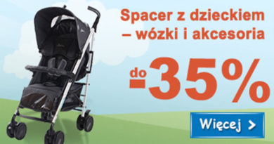 Wózki i akcesoria w Smyku do 35% taniej