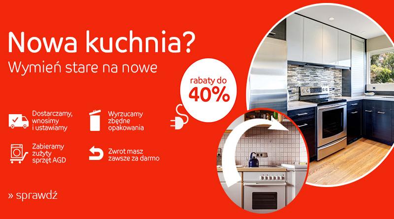 Wymień starą kuchnie na nową w eMag.pl