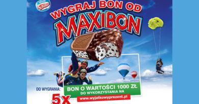 Konkurs Żabka Wygraj 1000 zł od Maxibon