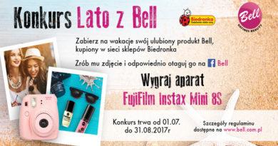 Konkurs Biedronka: Lato z Bell