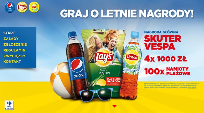 Konkurs Carrefour Graj o letnie nagrody