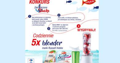Konkurs Carrefour Zakotwiczone w samku