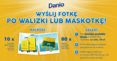 Konkurs Carrefour: Wyślij fotkę po walizki lub maskotkę