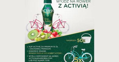 Konkurs Carrefour Wyjdź na rower z Activią
