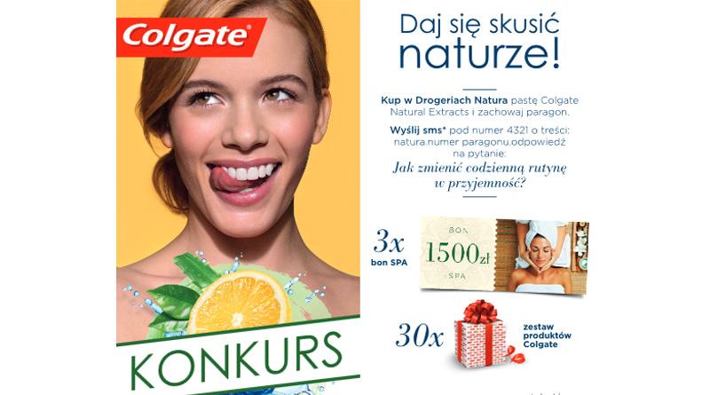 Konkurs Drogerie Natura Daj się skusić naturze