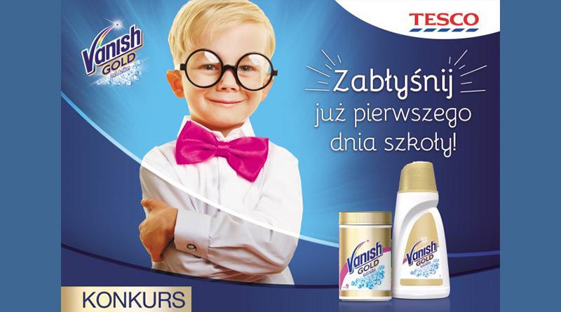 Konkurs Tesco Zabłyśnij już pierwszego dnia szkoły!