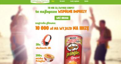 Loteria Delikatesy Centrum Wspólne imprezy z Pringles